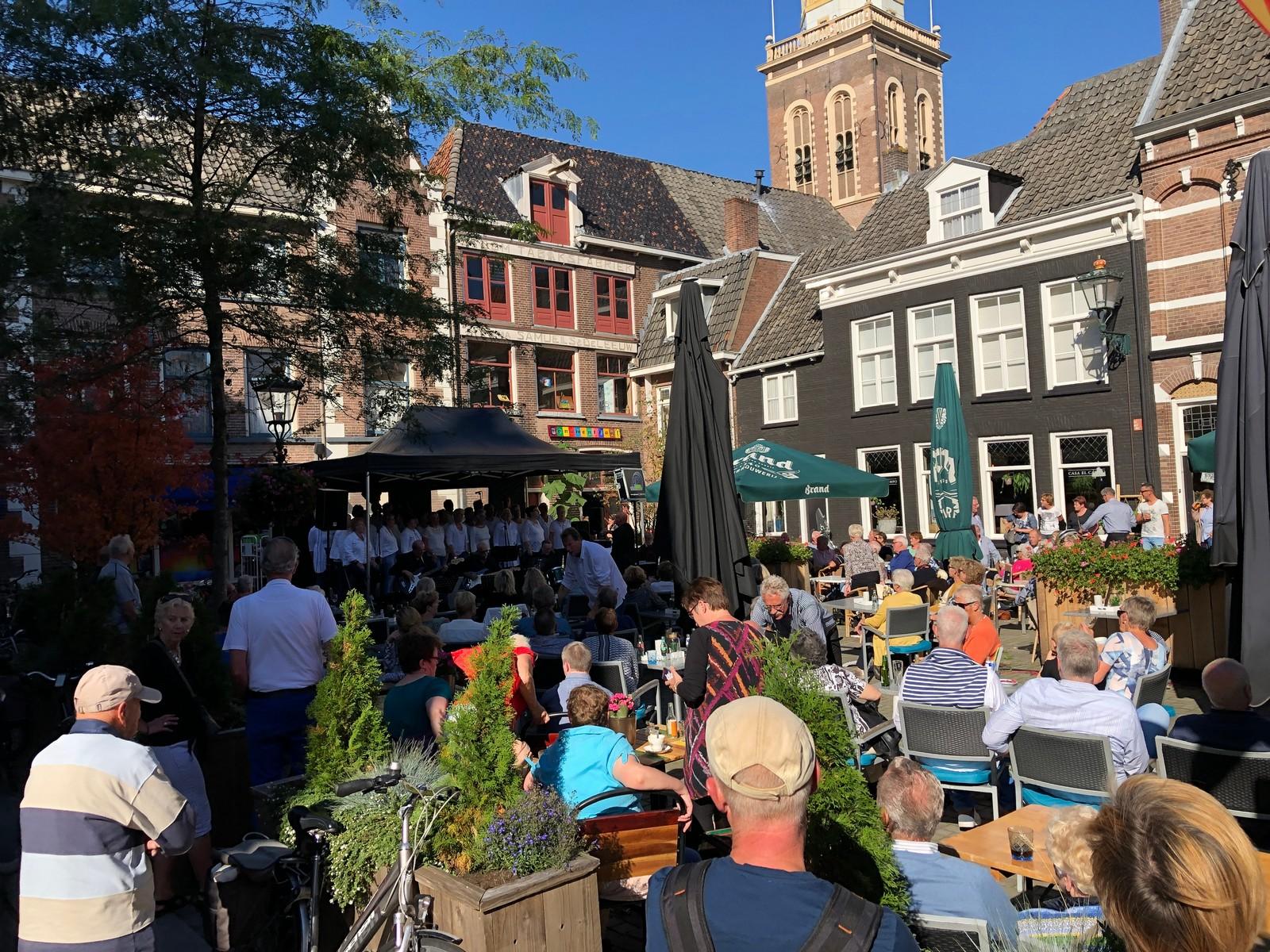 Extra ruimte voor terrassen horeca gemeente Kampen