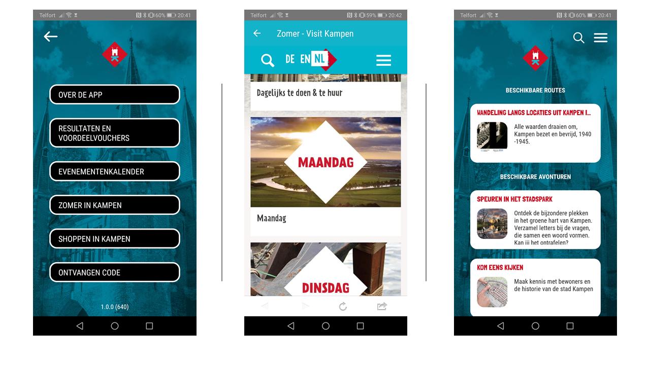 Coronaproof Stadsgids App voor Kampen