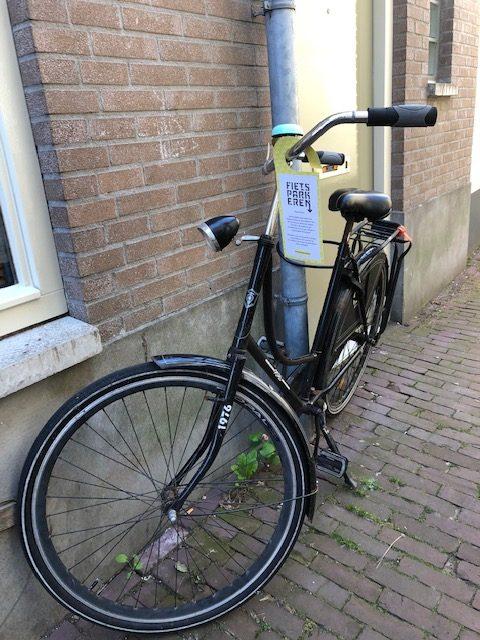 Binnenstadbewoners verrast door waarschuwing aan de fiets