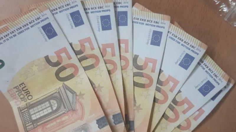 Vals geld aangetroffen bij snelle automobilist op N50