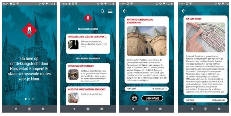 Twee nieuwe beeldenroutes in Kampen Stadsgids app