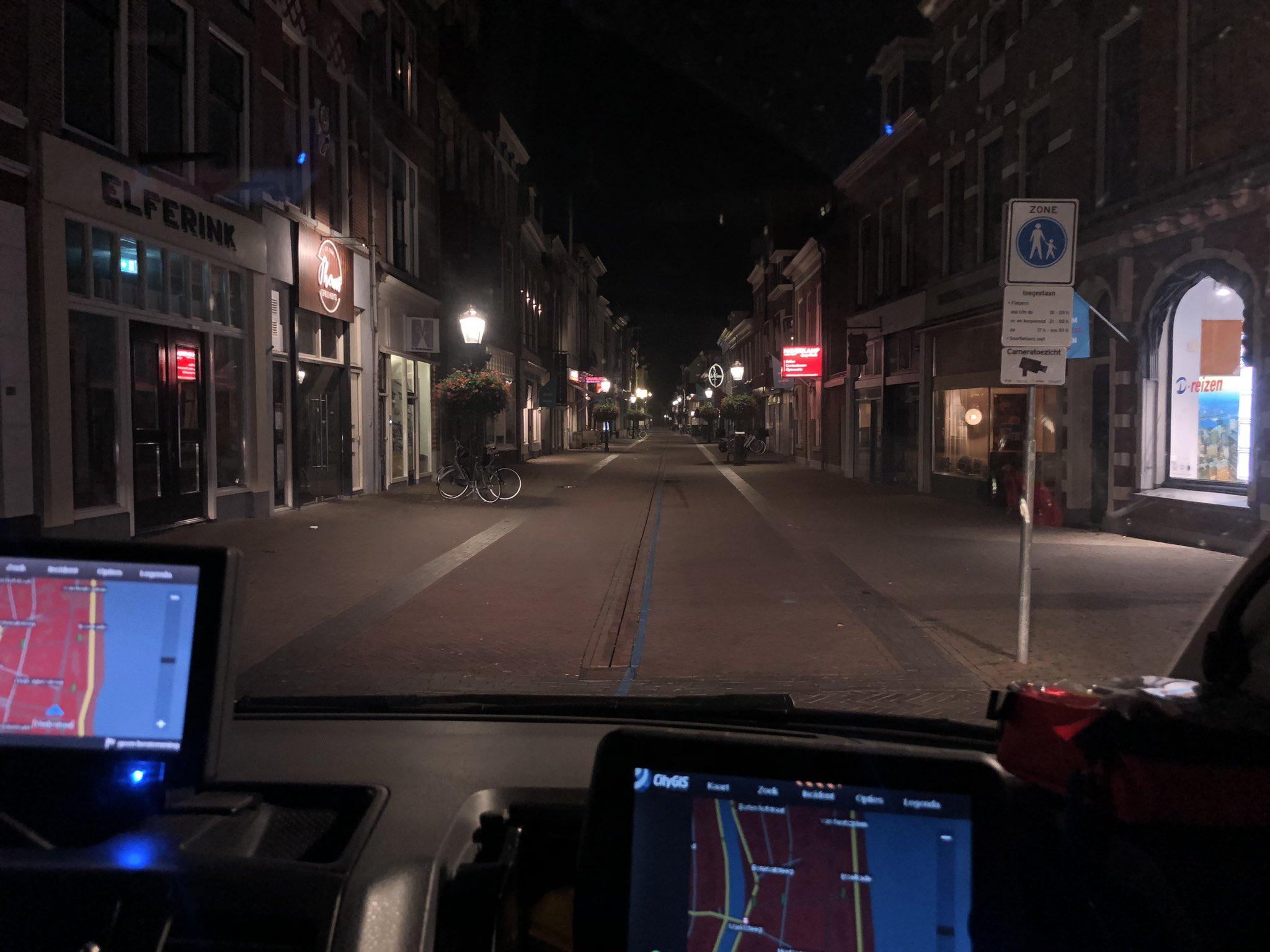 Complimenten Burgemeester Koelewijn voor horeca vanwege 'stille' Oudestraat