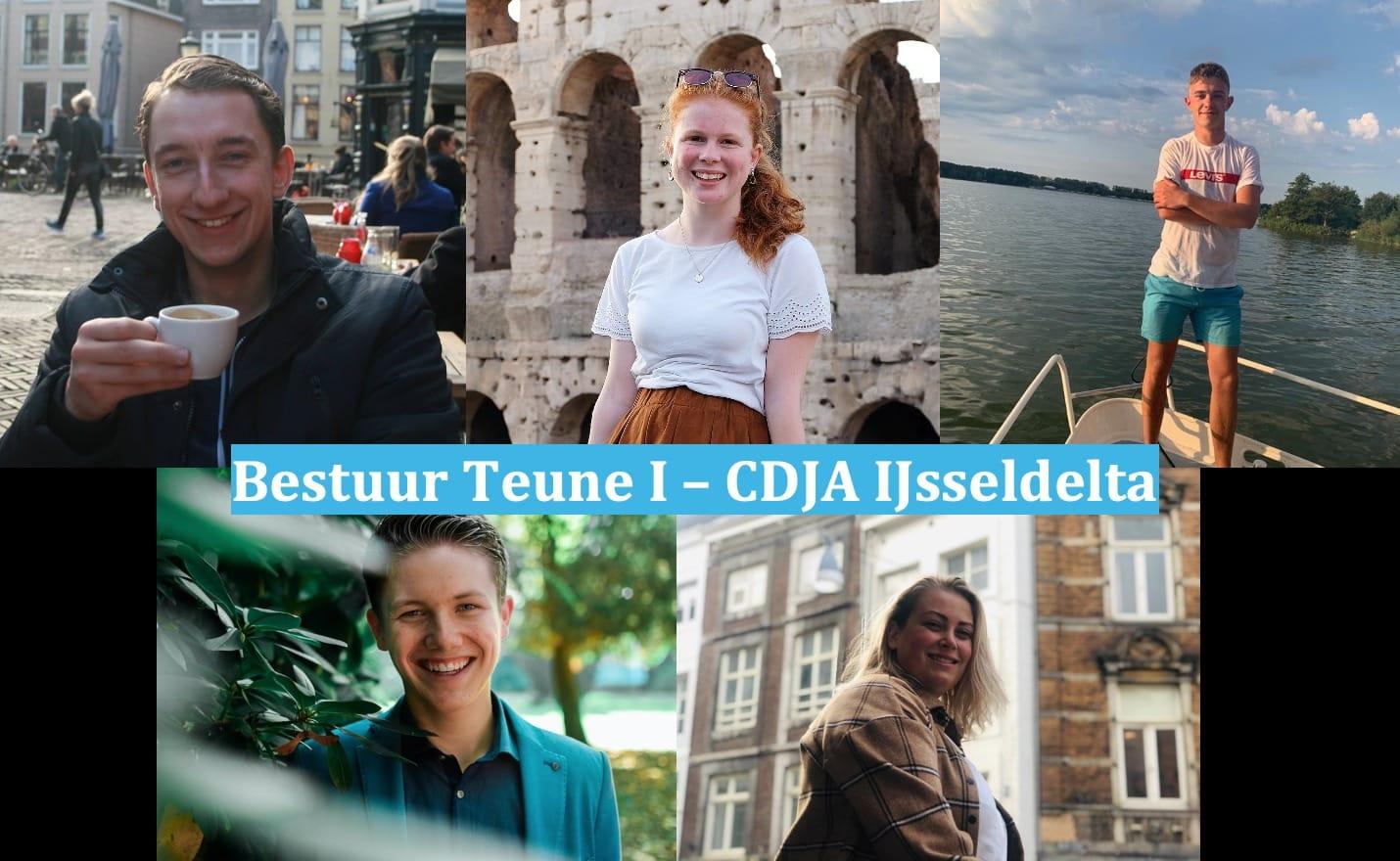 CDJA IJsseldelta presenteert vijf nieuwe bestuursleden