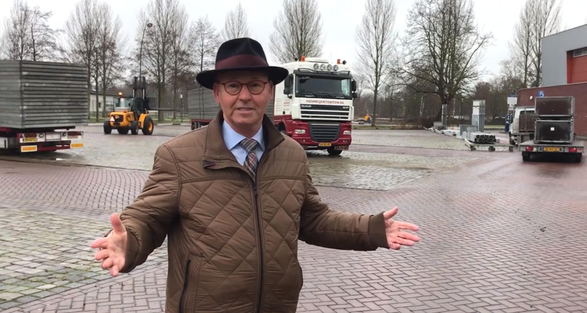 Toelichting burgemeester Koelewijn over vaccinatielocatie Burgemeester Berghuisplein