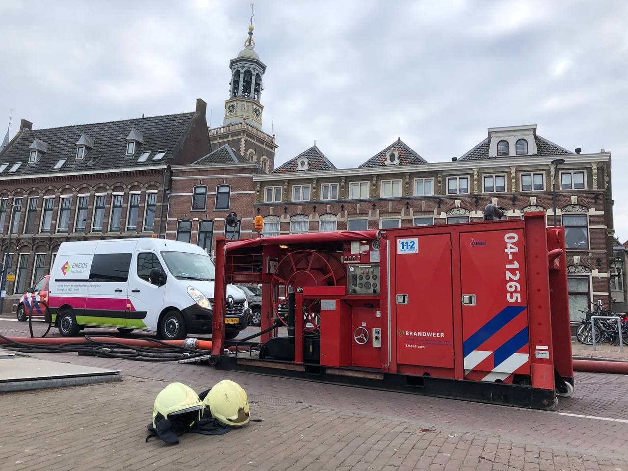 Binnenstadbewoners maken zich grote zorgen na grote brand in Kamper Binnenstad