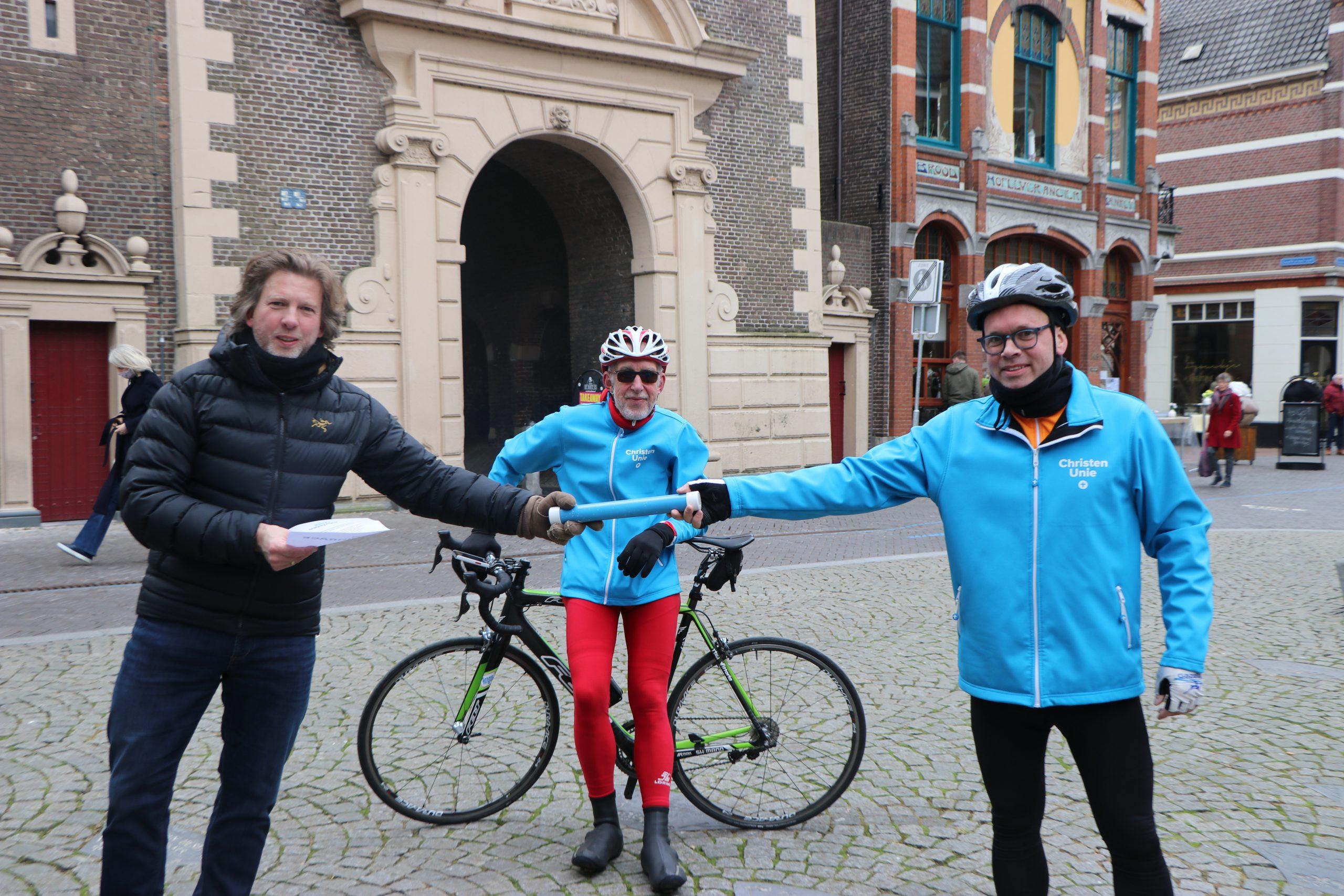 Duurzame oplossing 'Kampen Plastic Vrij' onderweg naar Den Haag