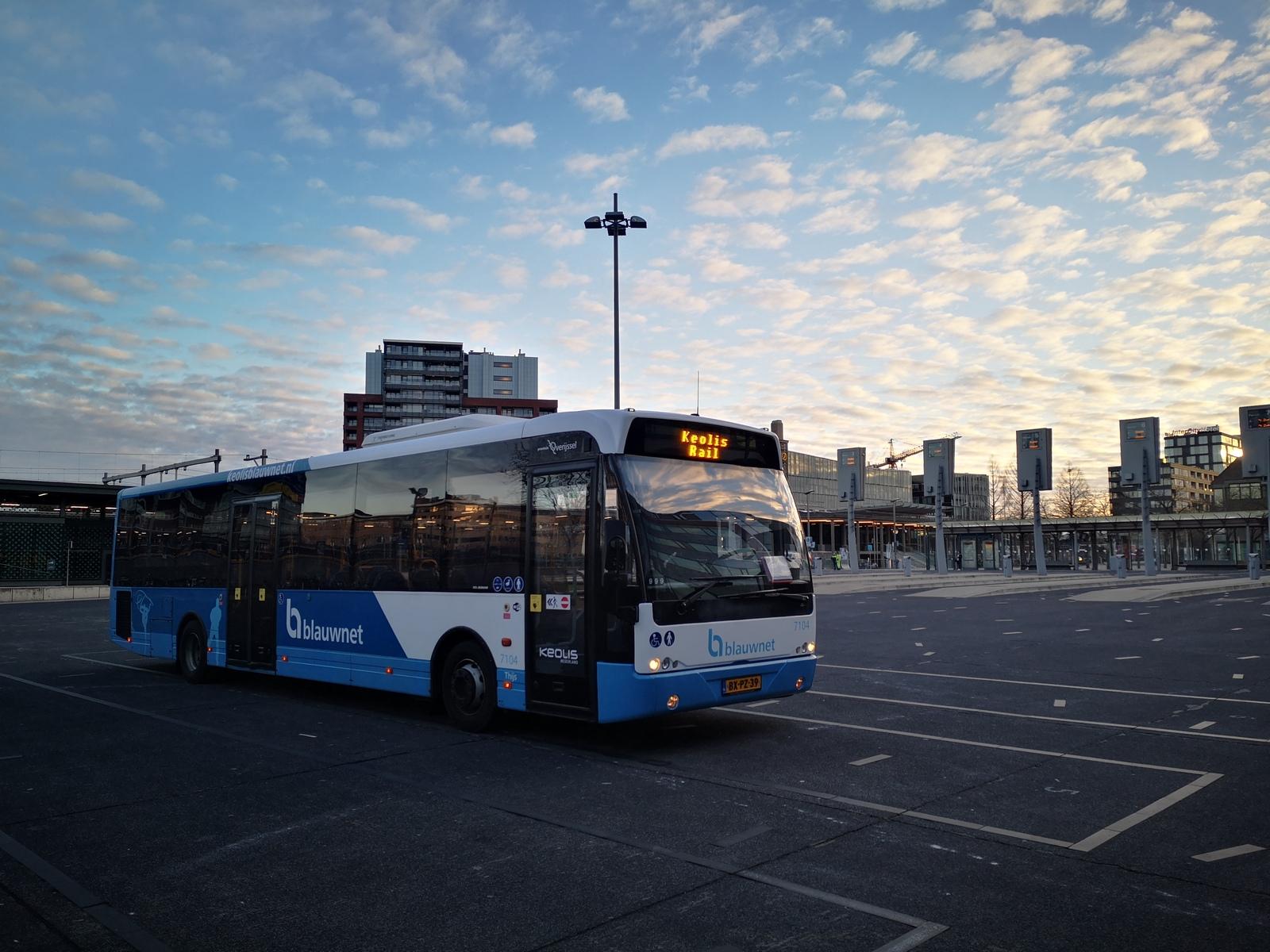 Geen trein maar bus op traject Zwolle-Kampen tussen woensdag 28 april t/m maandag 3 mei