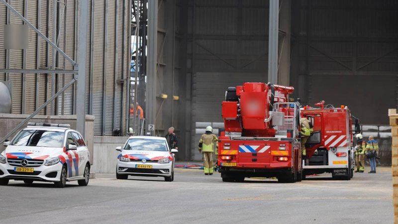 Brandweer opgeroepen voor industriebrand Graansloot Kampen