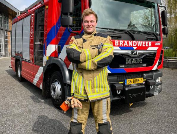Nieuwe tankautospuit brandweer – Livestream met Tom van der Weerd