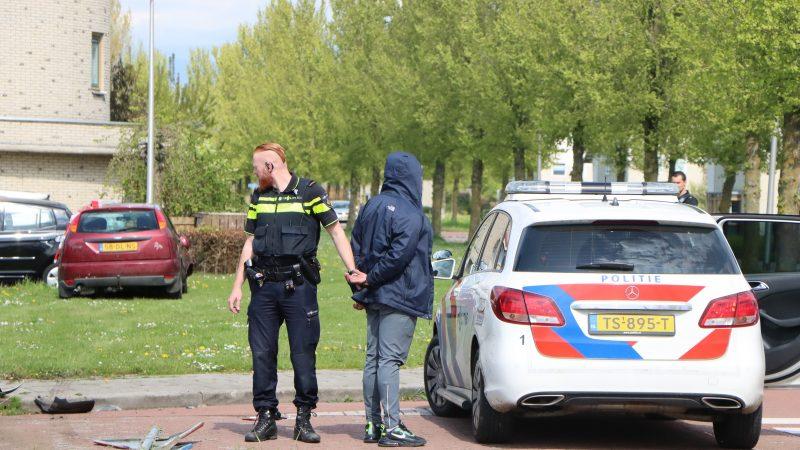 Wilde achtervolging door Kampen eindigt in zware crash