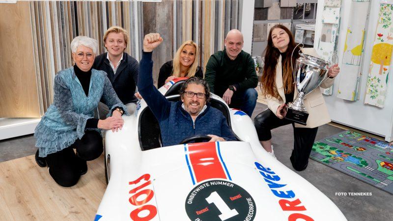 Floorever maakt ernstig zieke kinderen blij met racen in eigen Furori racewagen