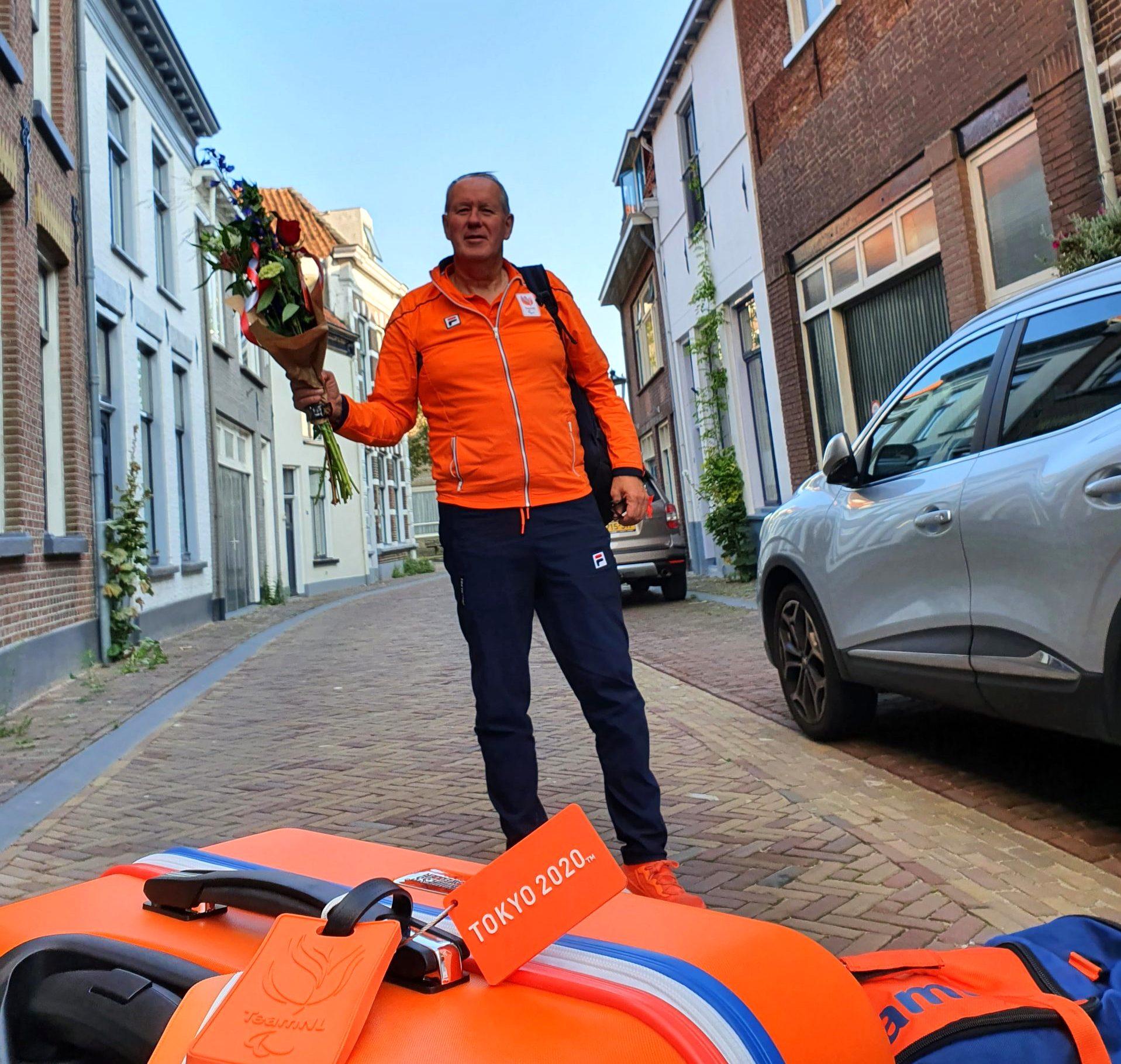Kamper bondscoach paralympische tafeltennis, Johan Lieftink, blikt terug op succesvolle spelen in Tokio.