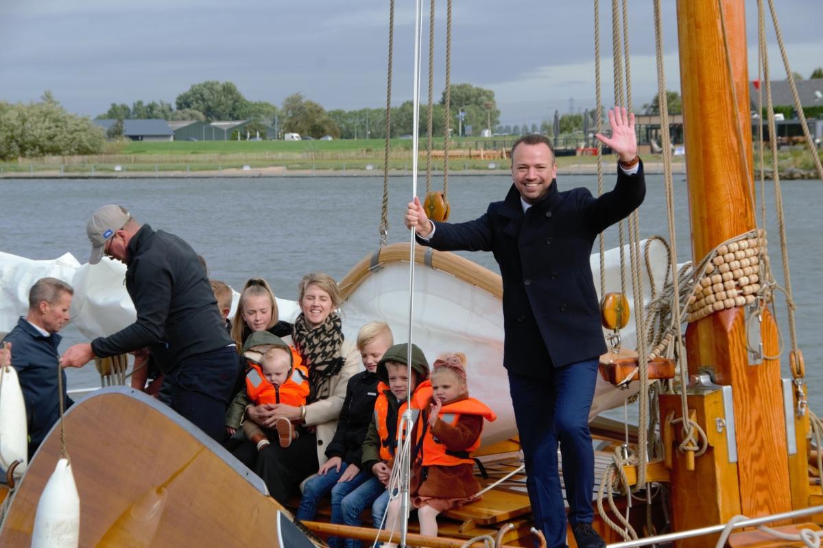 Nieuwe burgemeester Sander de Rouwe arriveert in Kampen